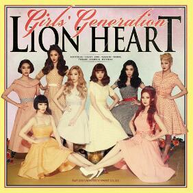 少女时代《Lion Heart狮子心》音乐录音室专辑-高品质mp3-百度网盘下载-江城亦梦