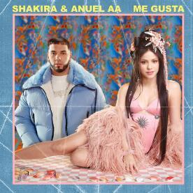 Shakira (夏奇拉) / Anuel AA《Me Gusta》高品质音乐mp3-百度网盘下载-江城亦梦