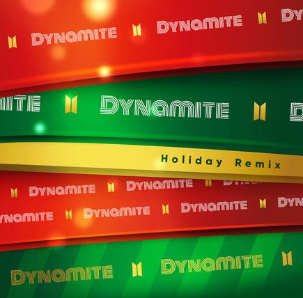 BTS(防弹少年团)《Dynamite (Holiday Remix)》高品质音乐mp3-百度网盘下载-江城亦梦